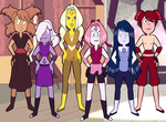 Naruto Girls as Gems by Kitty-McGeeky97