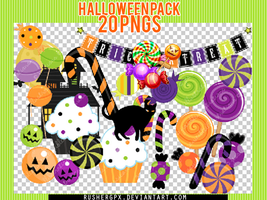 Halloween Pack - 20 PNG's by RusherGpx