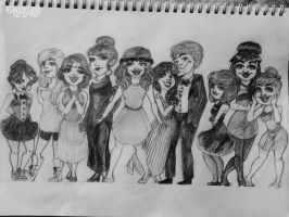 (Imaginary) Prom of 2015 ! by omg90skid