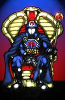 Cobra Commander colored by Balsavor