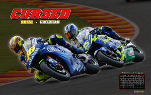 Rossi v. Gibernau Widescreen by TreborDesigns