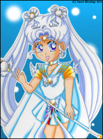 Pretty Guardian Sailor Cosmos by Sweet-Blessings