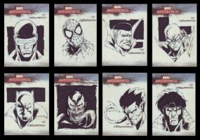 marvel masterpieces cards2 by denart