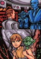 Starwars Sketch cards by bukshot