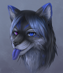 Cat anthro commission by Soreiya