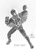 Black Bolt by jbacardi
