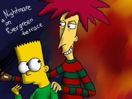 Nightmare on evergreen terrace by SunnyDisaster