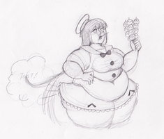 Reguest-Fatty Stocking by Deadly-Nightshade13