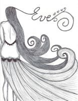 Long hair fashion illustration - Copy by paper-eve
