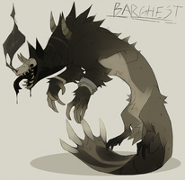 Barghest by Dusty-Demon