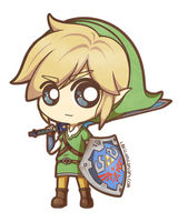 Skyward Sword Link by L0kii