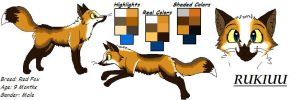 Rukiuu's Ref by dRaWiNgWiThHeArT