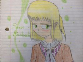 Parsee Mizuhashi (Fan art) by TheGuyNamedSky