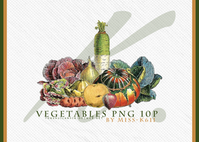 Vegetables Png by MISS-K611