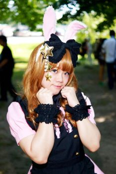 Maid/Lolita Outfits High Park 2015 #04 by Lightning--Baron