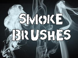 Hi-Res Smoke Brushes by thomascall