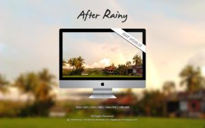 After Rainy Wallpaper by MeraihMimpi by meraihmimpi