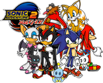 Sonic Adventure 2 Battle by Shadoukun