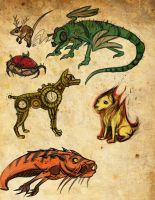 Compound Animals by Drunkfu