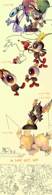 # Savewoy wips by Finni-NF