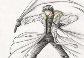 Shinomori Aoshi by GraphiteFalcon