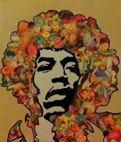 Jimi Hendrix by indecentyouth