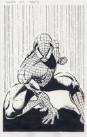 Spider-Man Inked by iamjamesporter