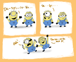 A ''Despicable'' Mini Comic by Paulycat
