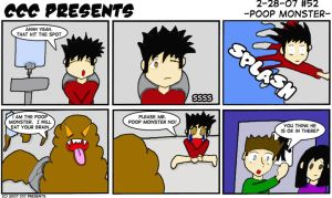 CCC Presents -52- Poop Monster by chelano