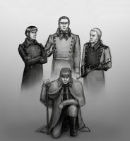 Les Mis: Javert - Inspiration by Nyranor