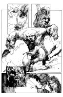 Inking Samples by MichaelHoneyman