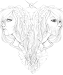 Two sides of the same coin WIP by J--Jade