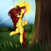 .:Applebloom:. + SPEEDPAINT by AnuHanele