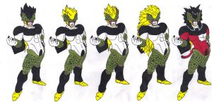 Saiyan Cell by DBZ2010