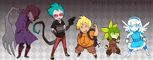 Persona Q Style Time! by Pheoniic