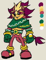 Sonic Adoptable: Mazuri Lion OPEN - PRICE REDUCED by PidgeonsPen