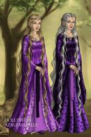 Elf Princess and her Elf Grandmother by Kailie2122