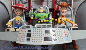 Toyz In Space Revisited by AnimatorAR