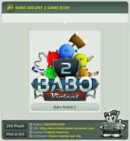 Babo Violent 2 Icon by CODEONETEAM