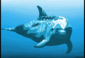 MSPaint Dolphin by PantTahti