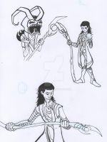 Loki sketches by tetso