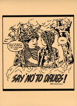 Say no to Drugs by dri-ilustre