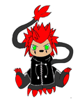 Axel-Mon Colored by Chimeric-Fire