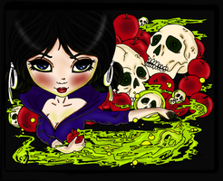 Snow White And The 7 Skulls    by pink-marshmallows