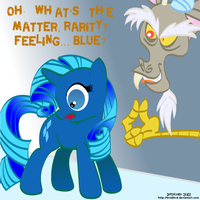 I Couldn't Find a Blue Pony... SO I MADE ONE by Invidlord