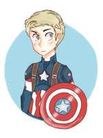 Captain America by Pecora-dolce