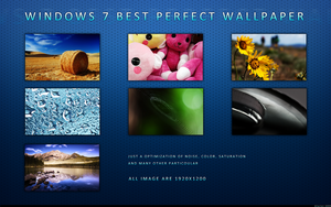 Best Win7 Perfect Wallpapers by bCyclon