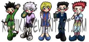 HxH Bookmarks by kojika