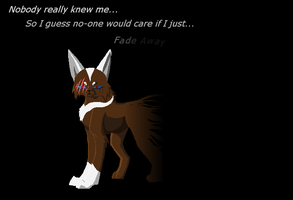 Fading -Contest Entry- by WolfStarr7