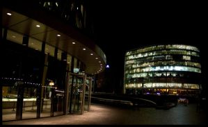 Mayors Office By Night by dxd